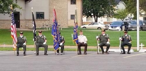 Northwoods Vet. 9/11 Ceremony
